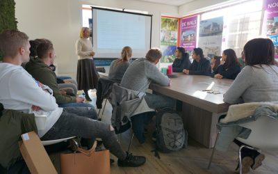 Studenten ontwerpen een tiny office in opdracht van Bouwend Nederland