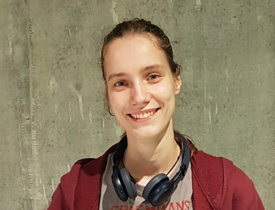 Studenten Team Leiden Kennisstad en Airbus Defence and Space: Annet van den Hul
